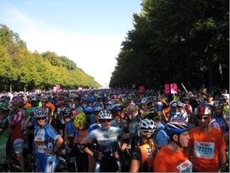 Berliini rulluisumaraton 2009 start