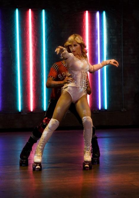 Madonna roller disco dance rollerskating song single album music video Sorry