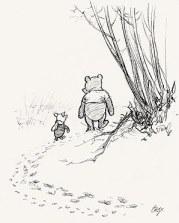 Pooh, whispered Piglet. Winnie Valentine's Day. Karupoeg Puhhi sõber sõbrapäev.