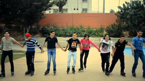 gaza skate team palestine
