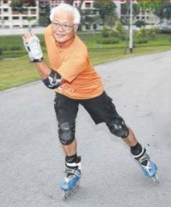 singapore tony tan inline roller skate