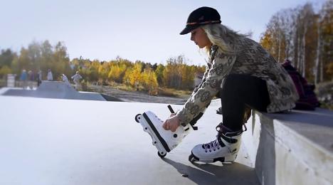 Kaili Randmäe Razors Jenna Downing pro skates